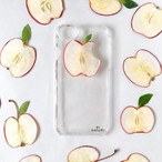 ひめリンゴ 押しフルーツスマホケース