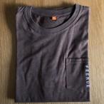 FEEMUE 肌触りの良いTシャツ ブラウン CRAFT AID