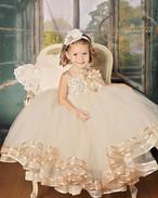 ビー服 子供服 ワンピース 女の子 プリンセスドレス 可愛い 水玉柄 長袖 春秋 ミニスカート チュールスカート 赤ちゃん服 おしゃれ 出産祝い 誕生日 結婚式 入園式