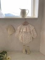 【予約販売】mimosa baby-suit【baby】〈monbebe〉