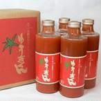 有機栽培トマトジュース ゆうきくん 700ml×4本(瓶)