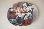 ノーマンロックウェル 絵皿(114-29)