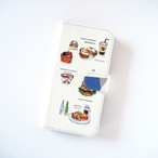 Local FOOD 手帳型スマホケース