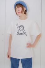 天上天下唯我独尊Tシャツ 半袖 ホワイト 線ブラック(サイズM・ L) かわいい ゆったりサイズ 男女兼用 仏像Tシャツ