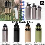 ORCA Bottle 34oz オルカ ボトル 34オンス キャンプ用品 アウトドア キャンプ グッズ ステンレス ドリンク 持ち運び 保冷 保温 こぼれにくい