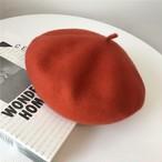 ベーシックベレー帽 テラコッタ