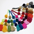 POMPON CHARM  MIX COLORS