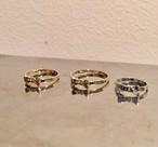 ribbon RING #1726 gold リボンリング/ゴールド