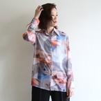 PHEENY 【 womens 】print chiffon shirts