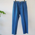 LAMOND.  【 mens 】middle wide denim trousers