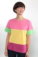 Colorful Tee【カラフルボーダーTシャツ】