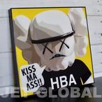 【カウズ HBA】Mサイズ26cm [PAPA_KA0004] KAWS : HBA
