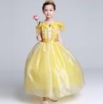 8484子供ドレス キッズ ベビー ジュニア 女の子ドレス フォーマルドレス プリンセス 美女と野獣 ベル