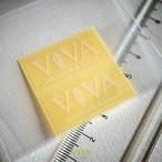 【同梱可】VIVAロゴステッカー2枚セット