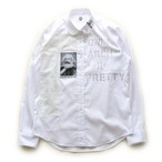 anarchy shirt 047(white riot)