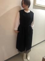 wool  long vest