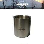 DUG(ダグ) ハンドルレスダブルウォールマグ DG-0505 アウトドア サバイバル キャンプ 保温 保冷 マグカップ
