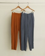 Vintagesatin Tuck Pants
