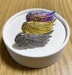 ホルスの翼 ピンバッジ(ゴールド・シルバー・レインボーの3色)
