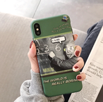 【オーダー商品】  Character green iphone case