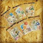 海外の使用済切手