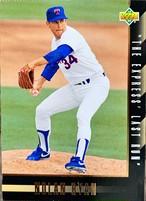 MLBカード 93UPPERDECK Nolan Ryan #SP6 RANGERS