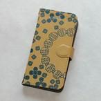手帳型ハイクオリティiPhoneケース『花の思い出<シロツメクサ>』for 6 Plus/6s Plus/7 Plus