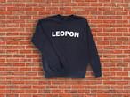 LEOPON logo sweat navy