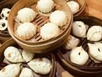 中華饅頭4個セット《青菜饅頭&椎茸とくわいの饅頭》