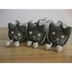 <フェアトレード>草木染め ネコ のペンケース 手織り ネパール