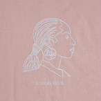 LOVERS ROCK LOGO TEE / LIFEdsgn (APRICOT)