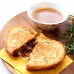 BBQポークチーズサンド