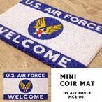 【MINIコイヤーマット】US AIR FORCE