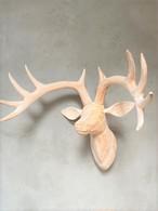 WOOD ANIMAL HEAD / Deer