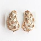 """AVON"" Spunweave earring[e-878]"