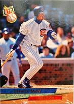 MLBカード 93FLEER Derrick May #019 CUBS