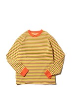 Original Multiborder Long Sleeve-T  / yellow