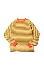 Original Multiborder Long Sleeve-T  / yellow