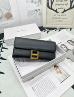 BBレザー長財布 長財布 ウォレット 財布 韓国ファッション