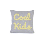 クッション / Cool Kids Cushion (Grey) 35×35cm (クールキッズ) / WOOUF! BARCELONA (ウーフバルセロナ)