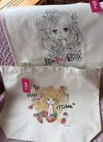 水森亜土のおもちゃ箱画廊♡オリジナルBIGトートバッグ