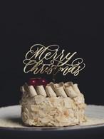 Merry Christmas オリジナルケーキトッパー