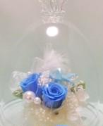 プリンセスのガラスドームフラワー♡シンデレラ