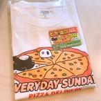 ピザまってるTシャツ&マグネットSET