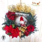 【クリスマス】Merry Christmas✳︎サンタクロース♡クリスマスフラワーリース
