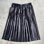 MSGM黒プリーツスカート