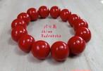 【1点のみ入荷】天然の赤珊瑚★ブレスレット