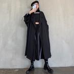ルーズフィットシンプルトレンチコート 韓国ファッション