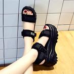 【shoes】新作切り替え合わせやすいサンダル20805668
