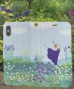 (iPhone) バレリーナインザガーデン手帳型スマホケース